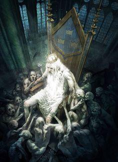 """""""El Rey de la Locura"""" de Pierre Droal."""