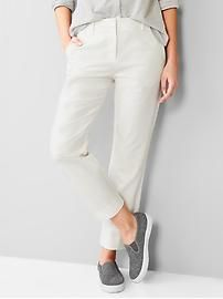 Tailored crop pants. Make sure to use Gap Discount and Voucher Codes to get significant discounts on your purchase.