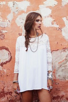 Just a Darling Life: 11 DARLING Little White Dresses for Spring - For Love and Lemons
