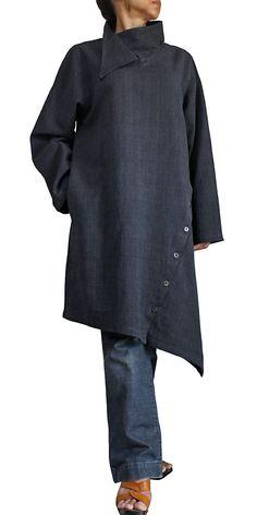 Slate-grey linen from Sawan.org