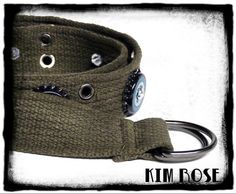 camo belt by Kim Rose on Etsy by Kim Rose on Etsy #bicycle #punk #punkfashion #studdedbelt #Ninkasi #webbelt