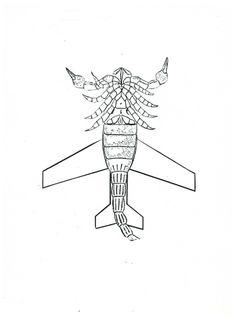 Escorpión-avion