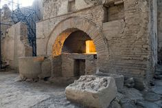 """Pompeii dig~""""This is the first house being excavated in Pompeii after many years. Visitors will be able to observe the dig process as it happens. Several pieces of Pompeii's daily life are going to emerge,"""" Marcello Fiori, Pompeii's emergency commissioner, said."""