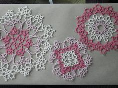 This lovely set of three doilies is the work of three lacemakers and will make delightful and delicate accent pieces in your home or as gifts.