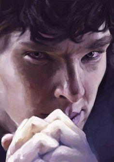 Sherlock fan art.                                                       …