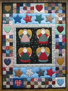 ´´angels de patchwork - Buscar con Google