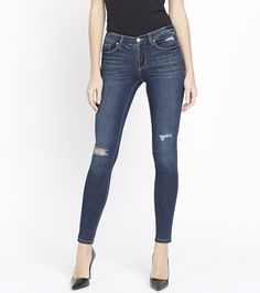 Featuring just the right amount of distressing, a skinny silhouette and the perfect amount of stretch, you couldn't ask for a better pair.