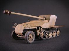 SdKfz 251 mit einer 7,5 cm Kwk 42 L/70.