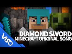 """Diamond Sword"" - Original Minecraft Song (Minecraft Animation) - YouTube"