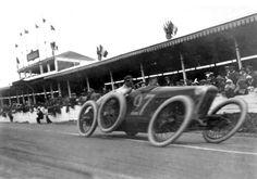 Antonio Fagnano, Fiat, 1914 French Grand Prix (unattributed)...