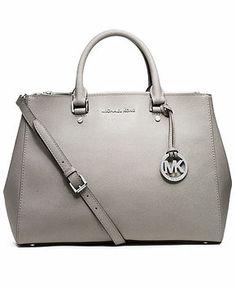 MICHAEL Michael Kors Sutton Large Satchel in Pearl gray. My favorite MK  bag. Valentina Ughi · Borse 3c35a816b4a