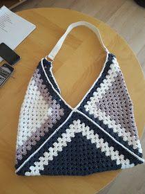 Au Crochet qui m'aille...: sac bandoulière 3 granny
