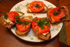 Open Faced Tomato Sa