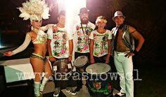 Show de samba en Fiesta MATRIMONIO. www.brashow.cl