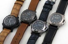 Luminor Panerai. Hermosos relojes.