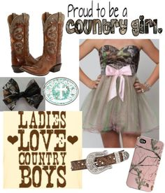 """""""Redneck Prom"""" by smalltowngirl15 ❤ liked on Polyvore"""