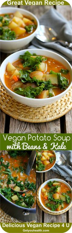 Vegan Potato Soup wi