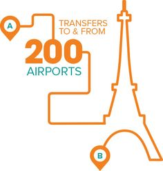 We are present in more than 200 airports worldwide for your transfers to any destinations!
