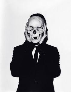 Untitled (Frank #9, Skull) by Andreas Laszlo Konrath, 2011.