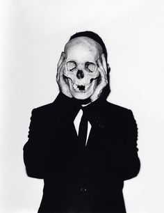Untitled (Frank #9, Skull) by Andreas Laszlo Konrath, 2011.