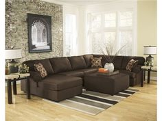 Shop for Signature Design 4 Piece Sectional With Ottoman, A307044, and other Living Room Sectionals at WG&R Clearance Center in Green Bay, WI.