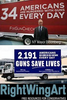 Every day, guns save lives...