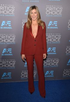 Jennifer Aniston in Gucci. Photo: Alberto E. Rodriguez/Getty Images for A