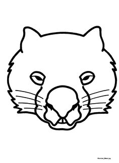 Mask templates for Australian (& other) animals, Animal Face Mask, Animal Masks, Animal Activities, Preschool Activities, Wombat Stew, Animal Mask Templates, Possum Magic, Stages Of Writing, Book Week Costume