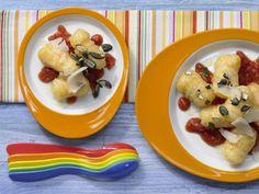 Kürbis-Gnocchi mit Tomatensauce - mit knödelteig u Kürbis  smarter - Kalorien: 497 Kcal - Zeit: 35 Min. |