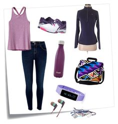 """Track and Field!!!"" by ashalyasam ❤ liked on Polyvore featuring interior, interiors, interior design, home, home decor, interior decorating, Post-It, River Island, Patagonia and Asics"