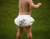 nothing cuter than poofy diaper covers.