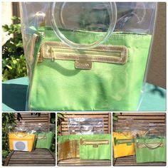 Ha-na By Atsuta Manufacture de Sacs Suitcase, Transparent Bag, Plastic, Fabrics, Organization, Leather, Briefcase