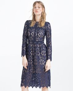 LACE DRESS-View All-DRESSES-WOMAN | ZARA United States