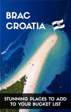 Places to go in Brac Island, Croatia.