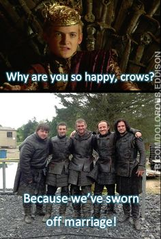 We May Sneak Off to the Mole's Town Brothel, But We're Not Crazy - Insane collection of GOT memes. Why would anyone need this many memes? Game Of Thrones Funny, Hbo Game Of Thrones, Winter Is Here, Winter Is Coming, Game Of Thrones Direwolves, Valar Morghulis, Valar Dohaeris, A Dance With Dragons, Ultimate Games