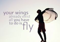 Ansichtkaarten: Your wings already exist.. (10 stuks) -