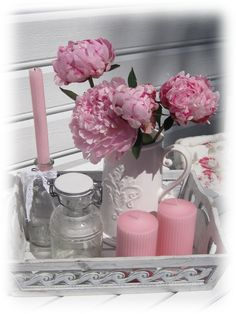 Pink inspiration for garden decoration