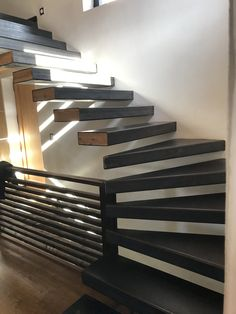 Cantilever Stairs, Stair Well, Wells, Scale, Architecture, Interior, Home, Design, Decor