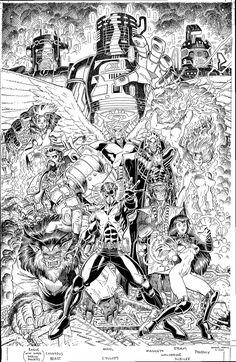 Alex Chung, travisellisor:   the cover to X-Men: Millennial...