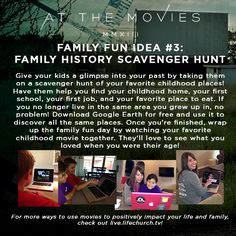 At the Movies Family Fun Night Idea #3 #lifechurchtv
