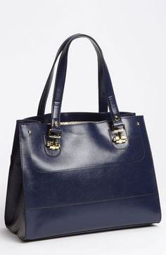 London Fog 'Devon' Faux Leather Tote available at #Nordstrom