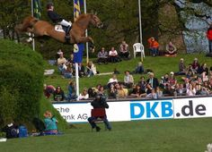 2008 Hamburg Spring Derby...  Horse and rider were fine  :)