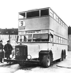 Berlin Photos, Public, S Bahn, Double Decker Bus, Bus Coach, Busse, Eastern Europe, Historical Photos, Old Photos