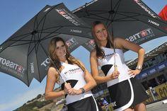 Grid Girls from SBK Laguna Seca Circuit