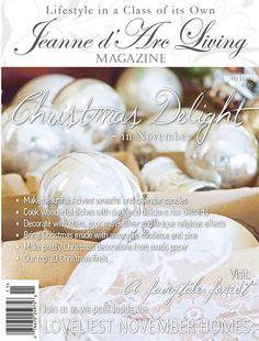 Jeanne d' Arc Living Magazine November 2015 Pre Order