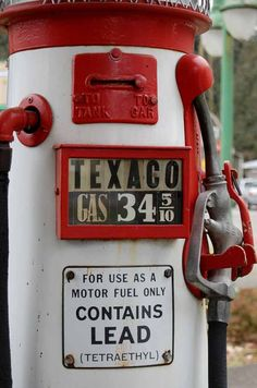 34 cents a gallon - those were the days!
