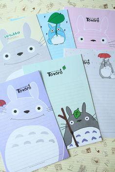 Totoro Cartoon letter sets Ver 02