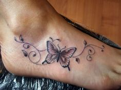 the scroll work, not the butterfly. wrist tattoos - Google Search