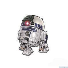 #Звездные_войны, #Роботы, #аватары, #картинки, #арт