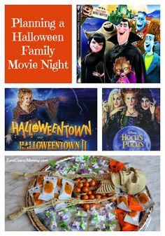 All you need for the perfect Halloween Family movie night. Halloween movies and special movie treats. Easy and inexpensive Halloween fine! Family Friendly Halloween Movies, Halloween Movie Night, Halloween Kids, Halloween Treats, Halloween Decorations, Halloween Costumes, Family Movie Night, Family Movies, Party Trays